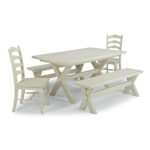 Moravia 5 Piece Dining Set Laurel Foundry Modern Farmhouse