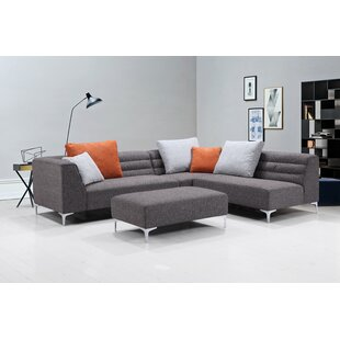 Uyen Versatile Living Room Modular Sectional by Orren Ellis