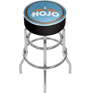 Howard Johnson 31 Swivel Bar Stool Trademark Global
