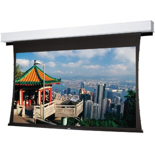 Tensioned Advantage Deluxe Electrol Electric Projection Screen by Da-Lite Best #1
