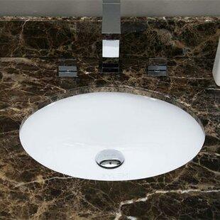 American Imaginations Ceramic Oval Underm..