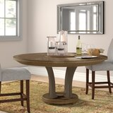 Medfield Solid Wood Dining Table by Three Posts