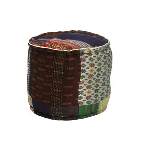 Bodington Gudari Patch Ottoman by World Mena..