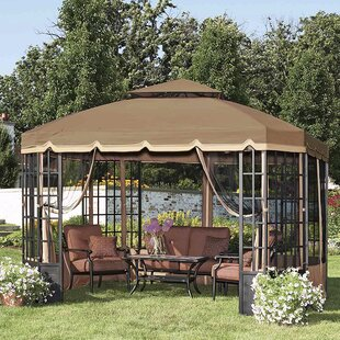 Replacement Canopy for Bay Window Gazebo by Sunjoy