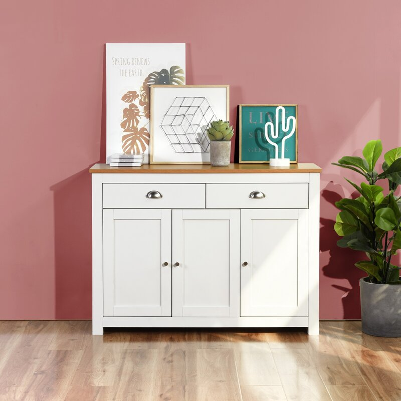 Iulfrith 44.02 Wide 2 Drawer Sideboard by Gracie Oaks