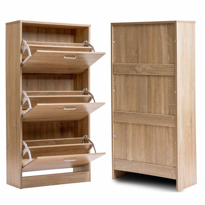 Hallway Bedroom 24 Pair Shoe Storage Cabinets