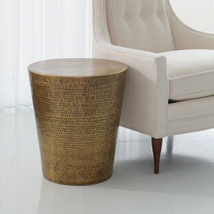 Studio A Home Izmir Hammered End Table