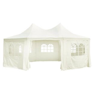 4m X 6m Metal Party Tent By Sol 72 Outdoor