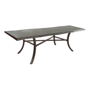 Arches Aluminum Dining Table by Leona