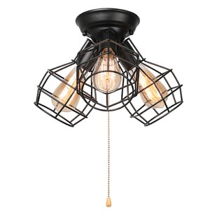 Hadsell 3-Light Directional and Spotlight by Williston Forge
