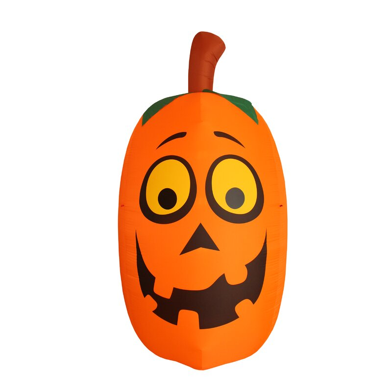 Jet Creations Inflatable pumpkin and spider Halloween party decorations supplies favor lights friedly