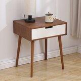 Leeton End Table with Storage by Corrigan Studio®