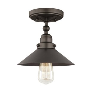 Gardiner 1-Light Semi Flush Mount by Trent Austin Design