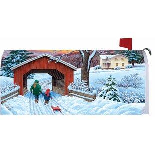 Covered Bridge Mailbox Cover By Custom Decor