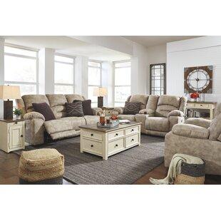 Red Barrel Studio Zenobia Reclining Configurable Living Room Set