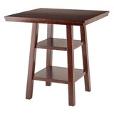 Pratt Street Counter Height Solid Wood Dining Table by Red Barrel Studio®