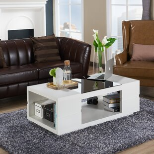 Kennison Contemporary Coffee Table Ivy Bronx