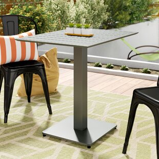 Anton Metal Dining Table by Wade Logan