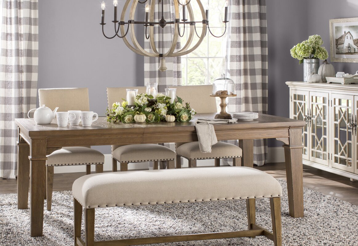 Wilmington Extendable Dining Table & Reviews | Joss & Main