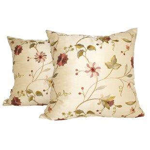 Paradise Garden Throw Pillow (Set of 2)