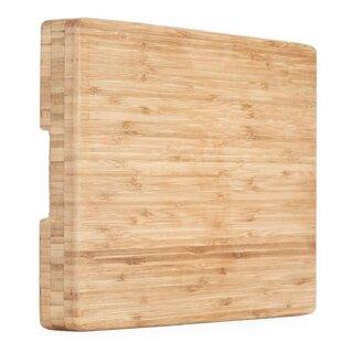 Organic Bamboo Butcher Block Chopping Board