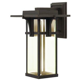 Kajale 1-Light Outdoor Wall Lantern