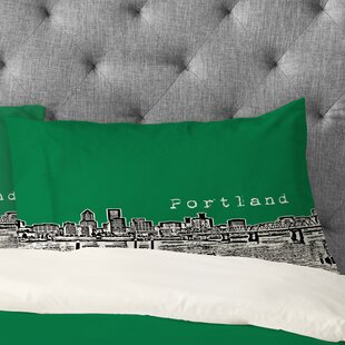Bird Ave Portland Pillowcase