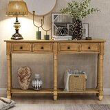 Mendota 58'' Console Table by Rosalind Wheeler