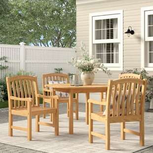 Summerton 5 Piece Teak Dining Set