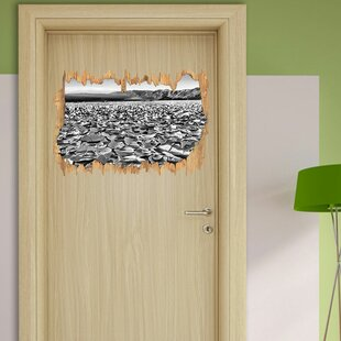 Cracked Soil Wall Sticker By East Urban Home