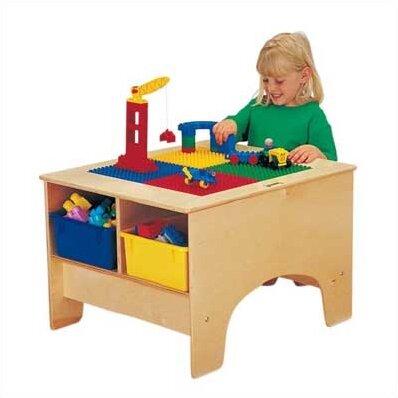 Jonti-Craft KYDZ Building Table - Lego® Compatible & Reviews | Wayfair