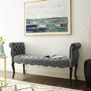 Mcarthur Upholstered Bench by House of Hampton