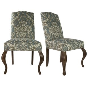 Queen Ann Spring Upholstered Side Chair Set Of 2