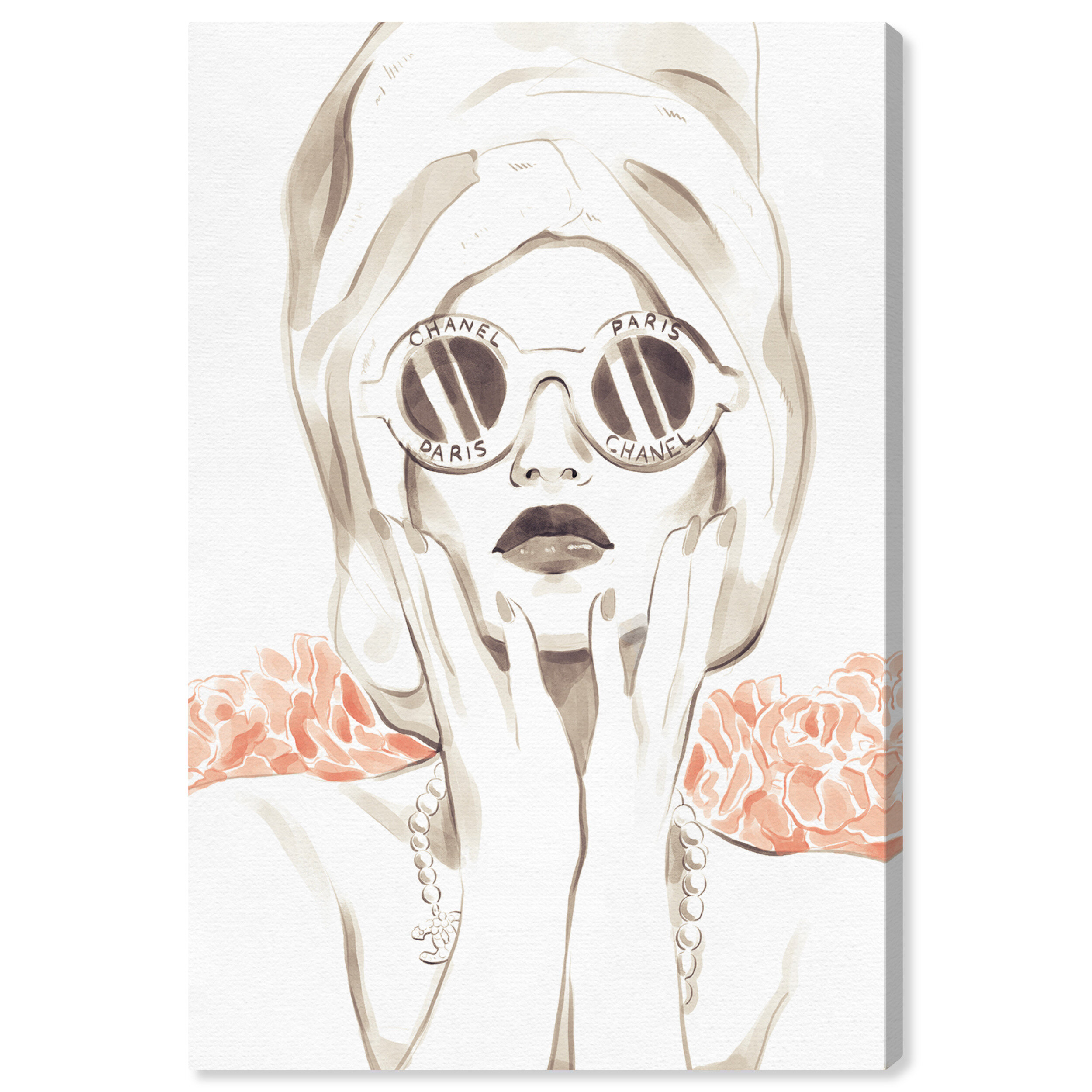 House Of Hampton Bath Bomb Beauty By Oliver Gal Graphic Art Print On Canvas Reviews Wayfair