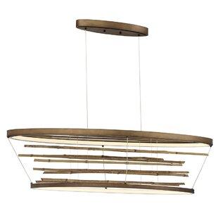 Foundry Select Dayton Bamboo Oval LED Pen..