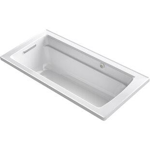 Archer 66-in X 32-in Drop-in Heated Bubblemassage Air Bath