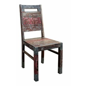 Akul Solid Wood Dining Chair (Set of 2) by 17 Stories