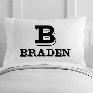 Personalized Pillow featuring the name YASMEEN in photos of actual sign letters