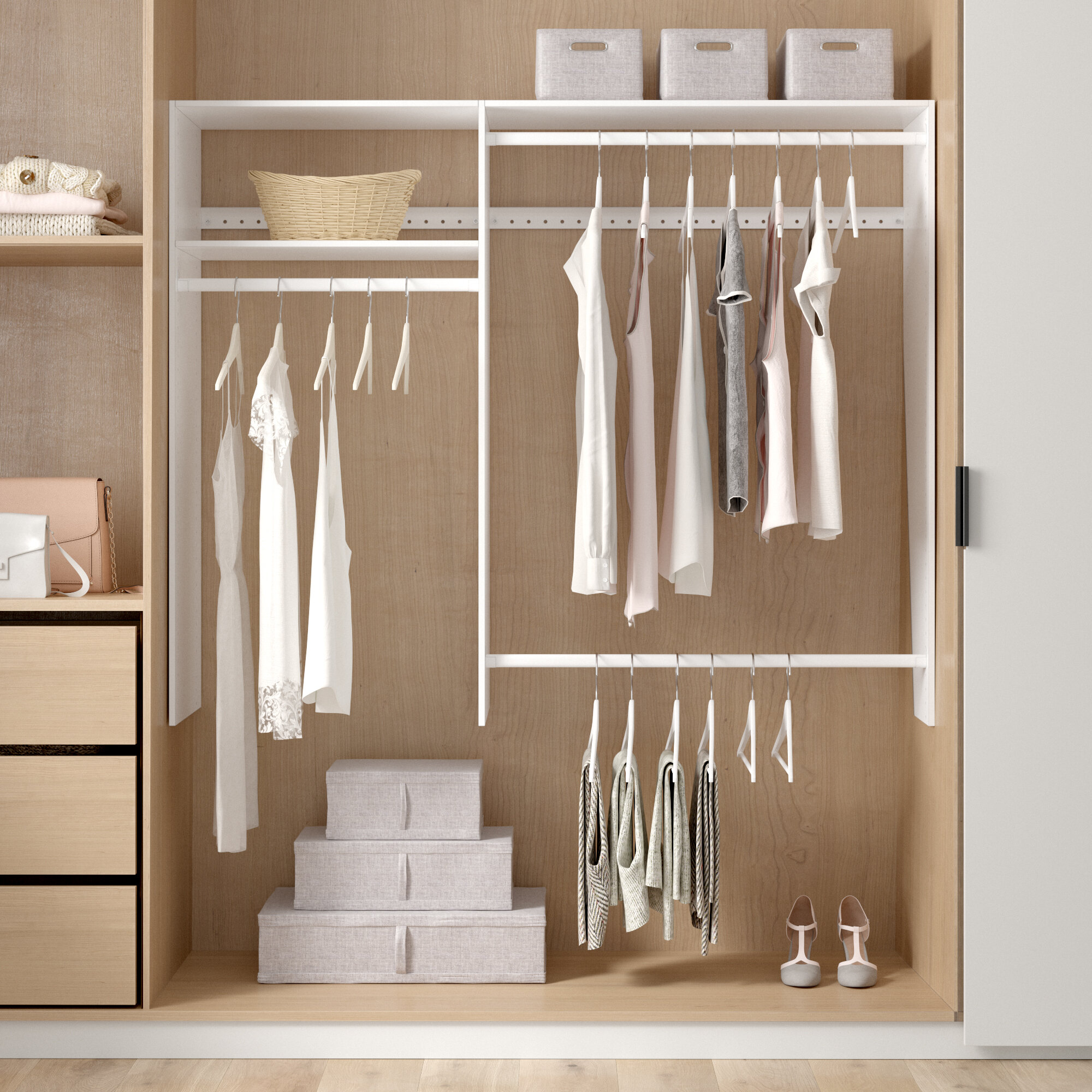 Closet Systems Organizers You Ll Love In 2020 Wayfair