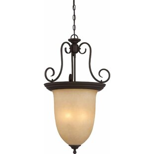 Volume Lighting Troy 4-Light Urn Pendant