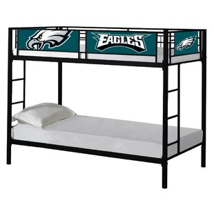 NFL Twin over Twin Bunk Bed