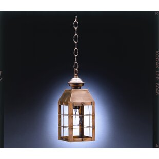 Inexpensive Woodcliffe 1-Light Outdoor Hanging Lantern By Northeast Lantern