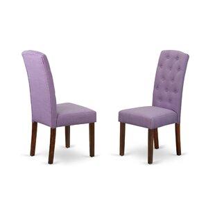 Charlton Home Dance Upholstered Dining Chair (Set of 2)