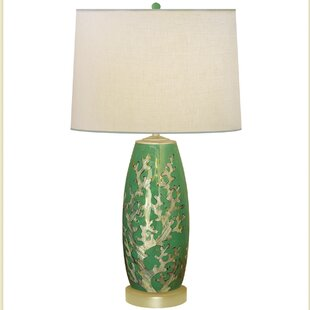 Coral Pearl Porcelain 30 Table Lamp