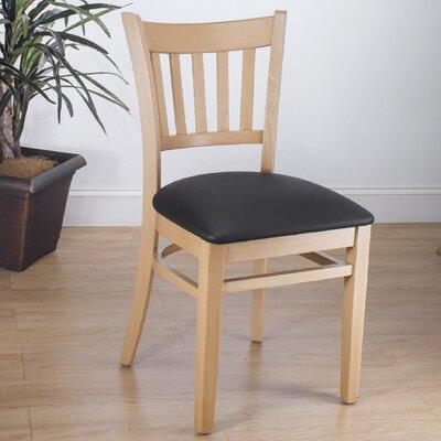 Slatback Solid Beech Wood Chair Benkel Seating Finish Natural