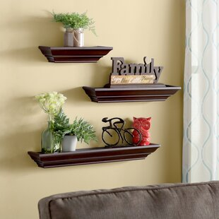 Reviews Lenahan 3 Piece Wall Shelf Set By Andover Mills