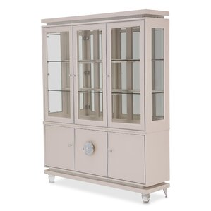 Glimmering Heights Standard China Cabinet by Michael Amini (AICO) Best Reviews