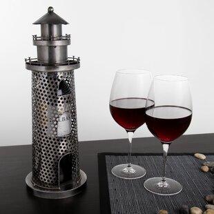 Schelbert Lighthouse 1 Bottle Tabletop Wi..