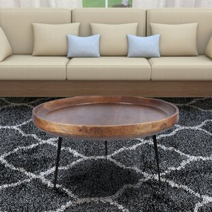 Streeter Round Mango Wood Coffee Table