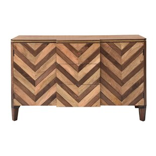 Ved 2 Door 3 Drawer Credenza Union Rustic